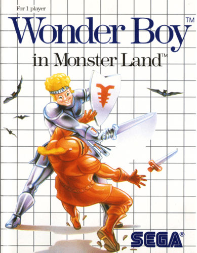 Wonder Boy in Mistery Island