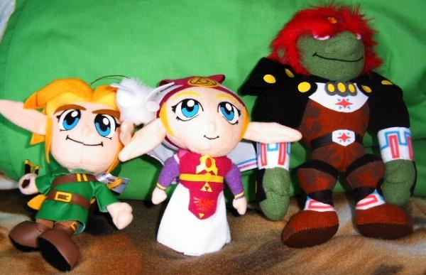 Zelda Plushes