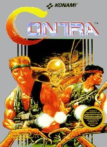 Os 10 melhores jogos do NES. Contra-nes