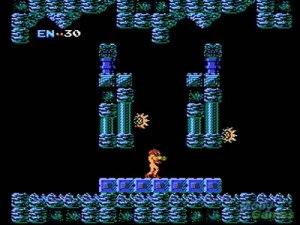 Os 10 melhores jogos do NES. Metroid_nes