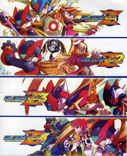Jogando: Mega Man Zero Collection