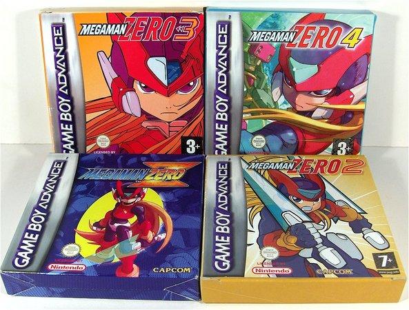 Jogando: Mega Man Zero Collection (1/4)