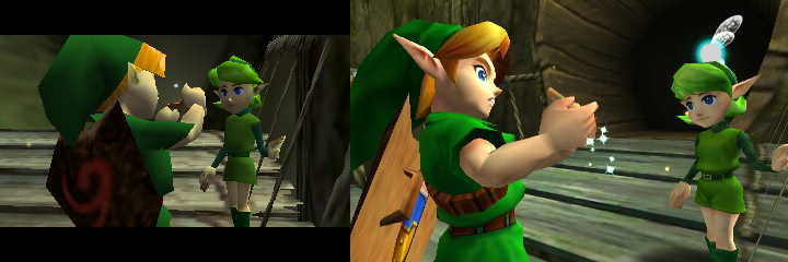 Review     The Legend of Zelda  Ocarina of Time 3DZelda And Link Kiss Ocarina Of Time