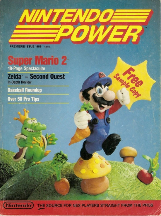 First Nintendo Power