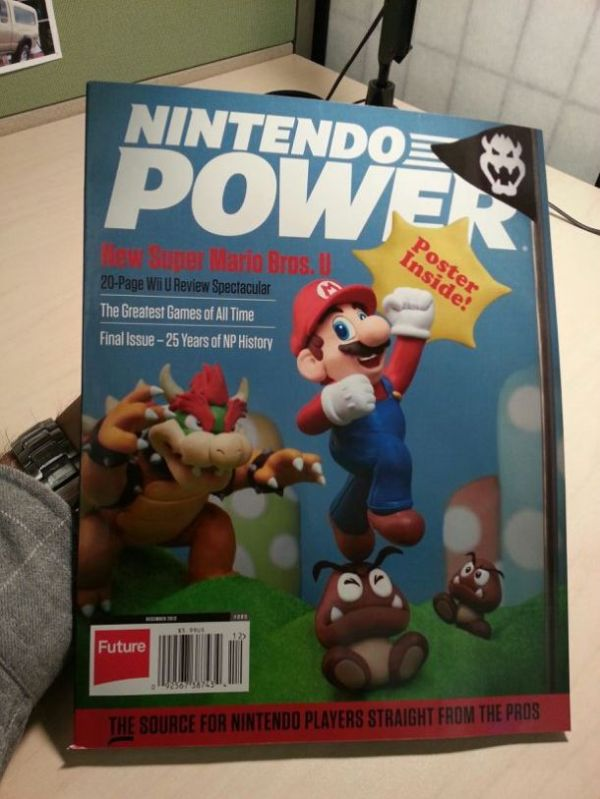 Last Nintendo Power
