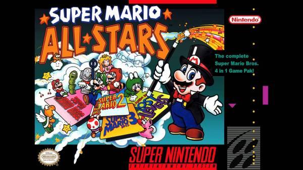 Super Mario All Stars USA Cover